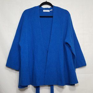 Anthro Sleeping on Snow Alcott belted cardigan